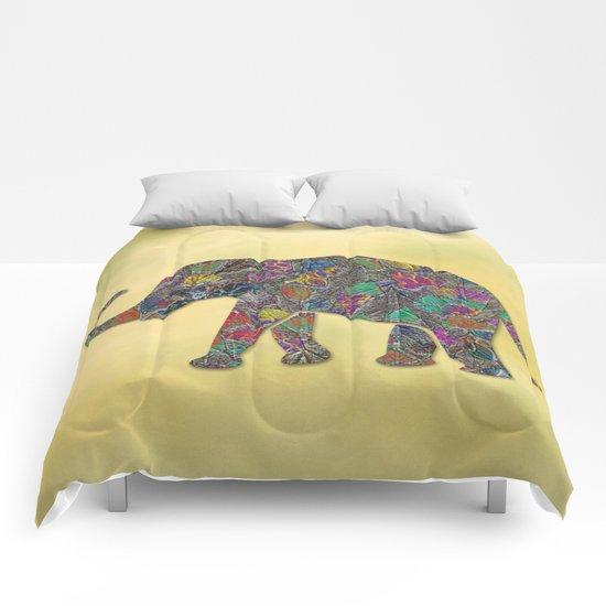 Animal Mosaic - The Elephant Comforters