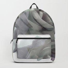Gray rose Backpack