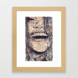 Laughing Girl 15# Framed Art Print