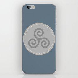 IN DEREK HALE WE BELIEVE iPhone Skin
