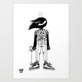 Kendama King Art Print