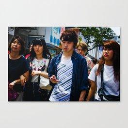 Takeshita Street Canvas Print