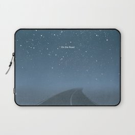 "Jack Kerouac ""On the Road"" - Minimalist literary art design, bookish gift Laptop Sleeve"