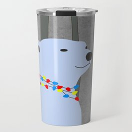 Polar Bear Holiday Design Travel Mug