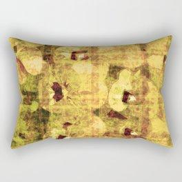 golden flower kaleidoskope Rectangular Pillow