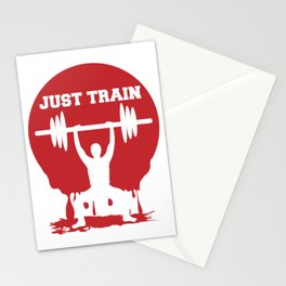Just train Stationery Cards