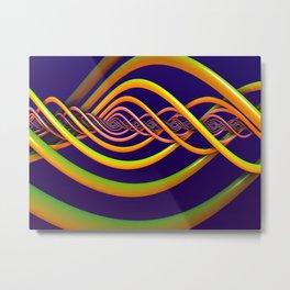 Helix Background Metal Print