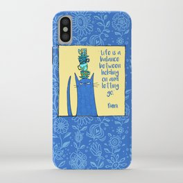 life is a balance ... iPhone Case
