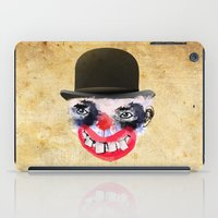 clown iPad Cases featuring Clown by Ahmet Hacıoğlu