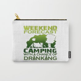 WEEKEND FORECAST CAMPING Carry-All Pouch