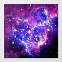 galaxy Canvas Prints featuring Galaxy. by Matt Borchert