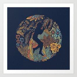 b e Art Print