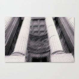Old Montreal Columns Canvas Print
