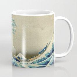 The Great Wave Off Kanagawa by Katsushika Hokusai (c. 1830) Coffee Mug
