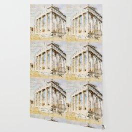 Acropolis, Athens Greece Wallpaper