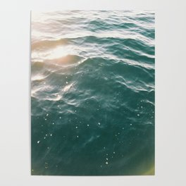 On the Water Poster