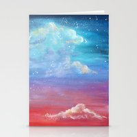laia Stationery Cards featuring Sky lights by Laia™
