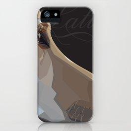 Latte Dog iPhone Case