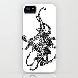 Henna Octopus iPhone Case