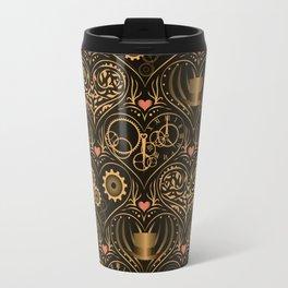 Steampunk Romance Travel Mug