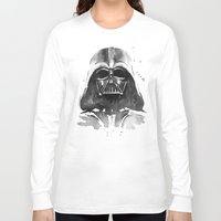 darth vader Long Sleeve T-shirts featuring Darth Vader by Olechka