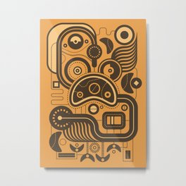 Nonsensical Doodle #3 Metal Print