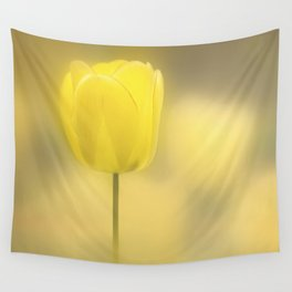 Mellow Yellow Wall Tapestry