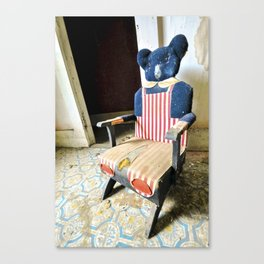 Time Out Chair Canvas Print