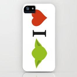 Yoda I Love iPhone Case
