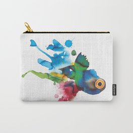 COLORFUL FISH 2 Carry-All Pouch