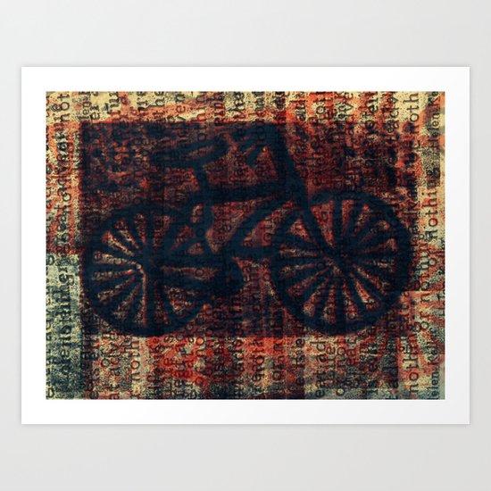 """Bike"" Art Print"