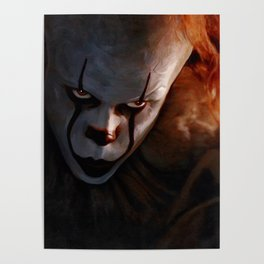 Pennywise The Dancing Clown - IT Poster