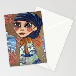 Ruby Queen Stationery Cards
