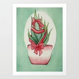 California Christmas 3 Art Print