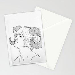 ramhorns jinki Stationery Cards