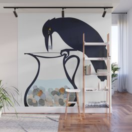 The Crow and the Pitcher Wall Mural