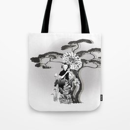 Morgenspaziergang Tote Bag