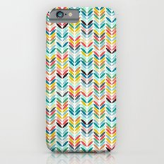 llama leaf arrow chevron white Slim Case iPhone 6s