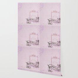 belle époque  paper Wallpaper