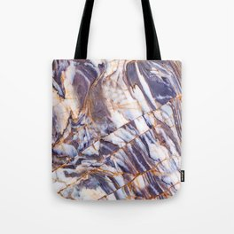 Grey marble Tote Bag