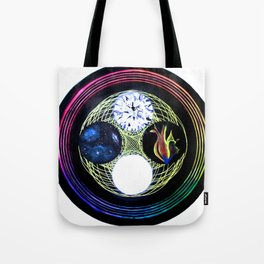 Space and Light Tote Bag