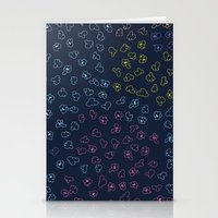 constellations Stationery Cards featuring Constellations by datavis/pwowk