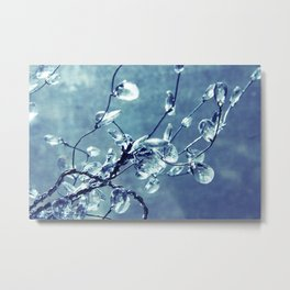 Crystalize Metal Print