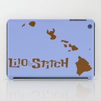 lilo and stitch iPad Cases featuring Lilo and Stitch by Citron Vert