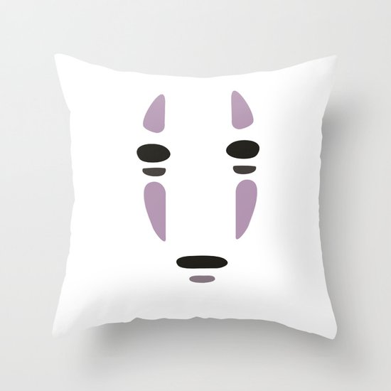 Spirited Away Throw Pillow