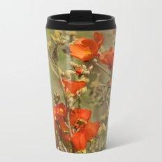 Desert Wildflower - 4 Metal Travel Mug