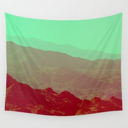 Palm Springs Mountains II Wall Tapestry
