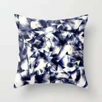 the shining Throw Pillows featuring Shining by llande