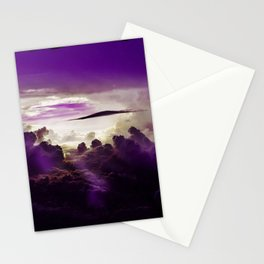 I Want To Believe - Purple Stationery Cards