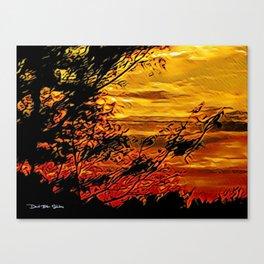 Summer Breeze - Graphic 1 Canvas Print